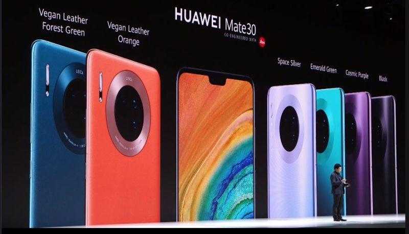 Huawei remove botões físicos e aposta em câmera quádrupla no Mate 30
