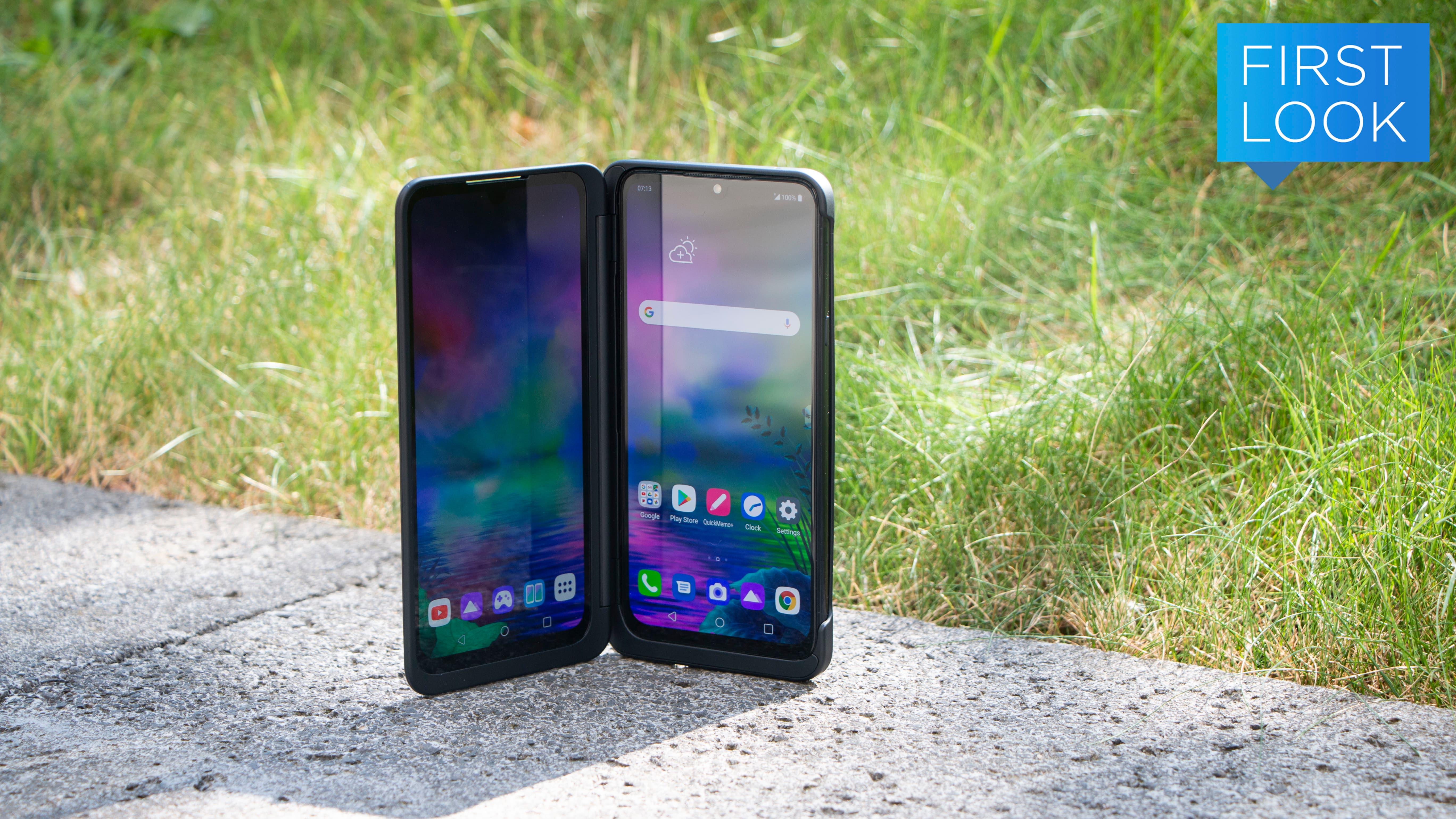 O novo celular de tela dupla da LG parece dois aparelhos em um