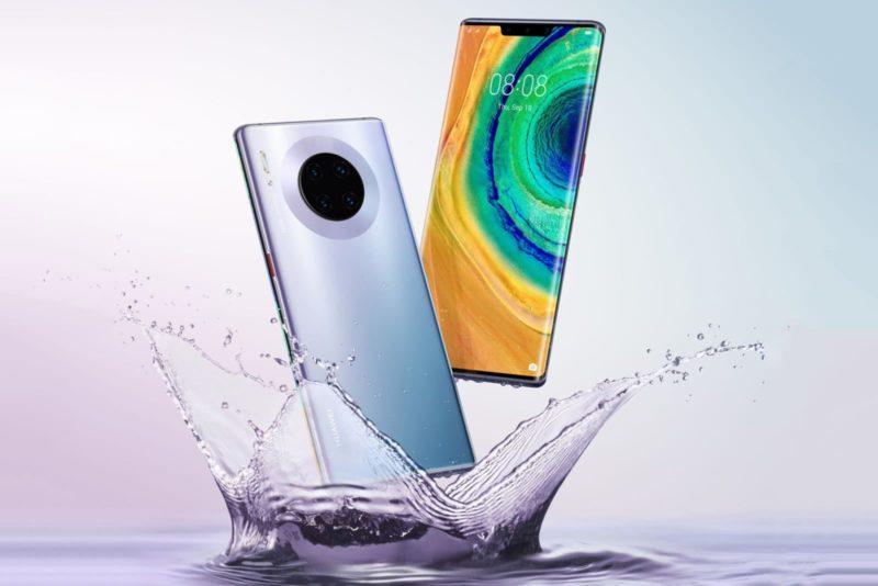 Este aqui parece ser o visual do Mate 30, o próximo topo de linha da Huawei