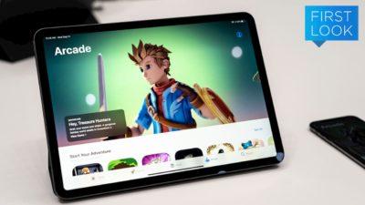 Tela da App Store na aba Arcade