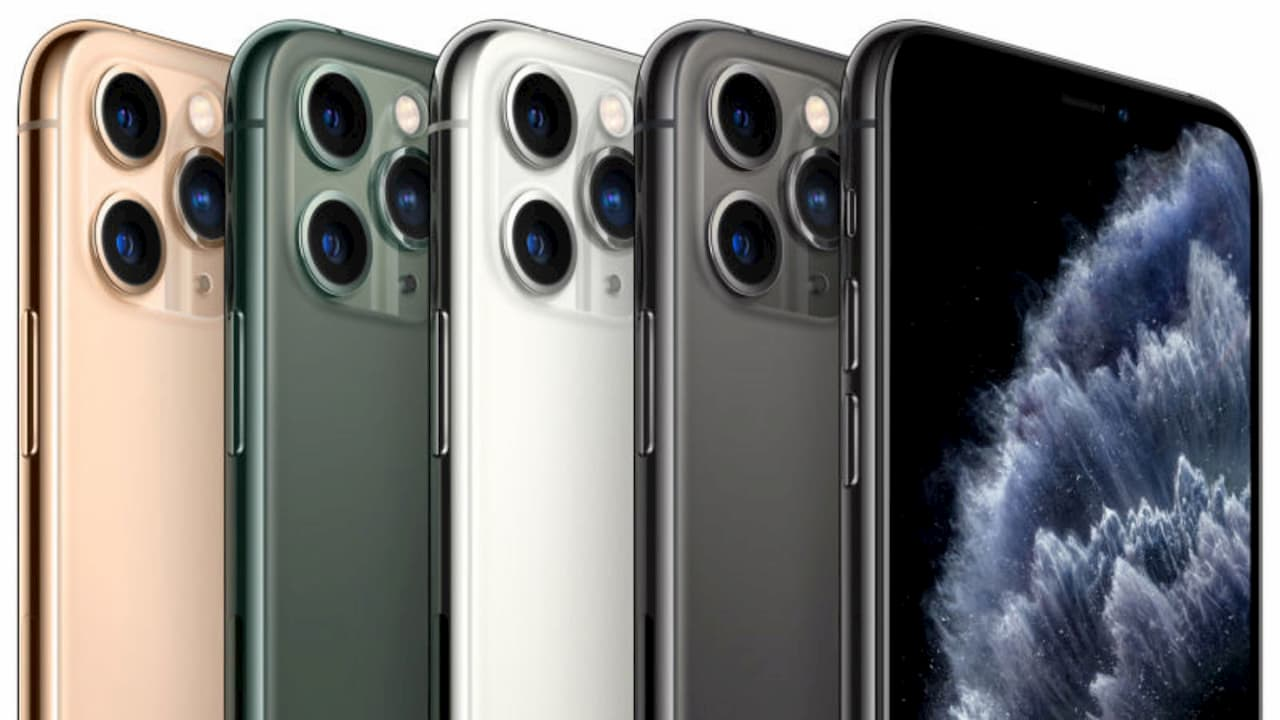 iPhone 11 Pro e suas diferentes cores