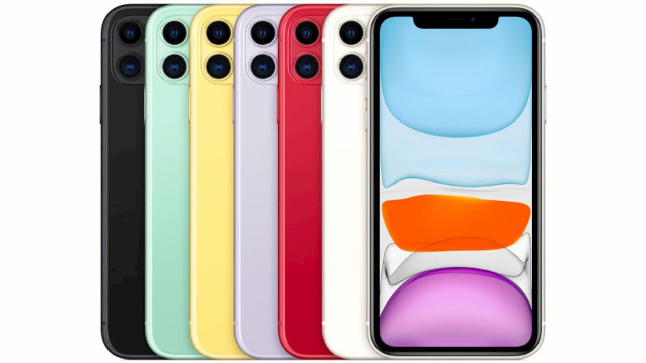 iPhone 11 e suas cores