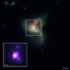 A junção de três buracos negros