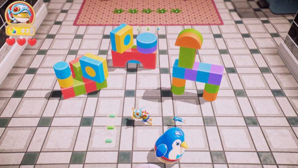 Frogger, um jogo para Apple Arcade