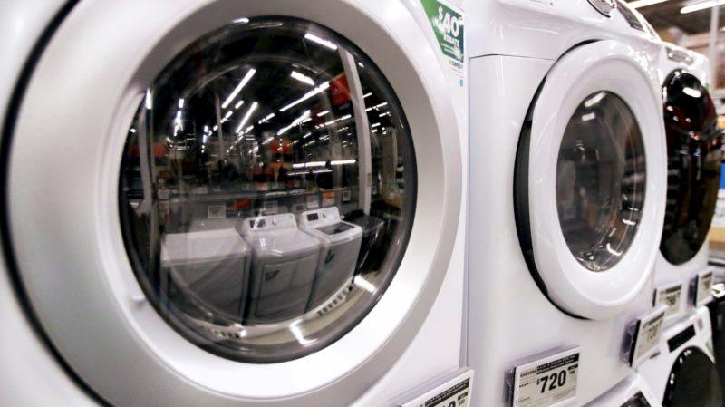 Máquina de lavar frontal