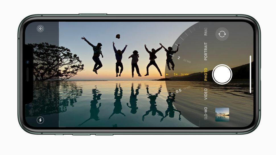 Modo de câmera do iPhone 11 Pro
