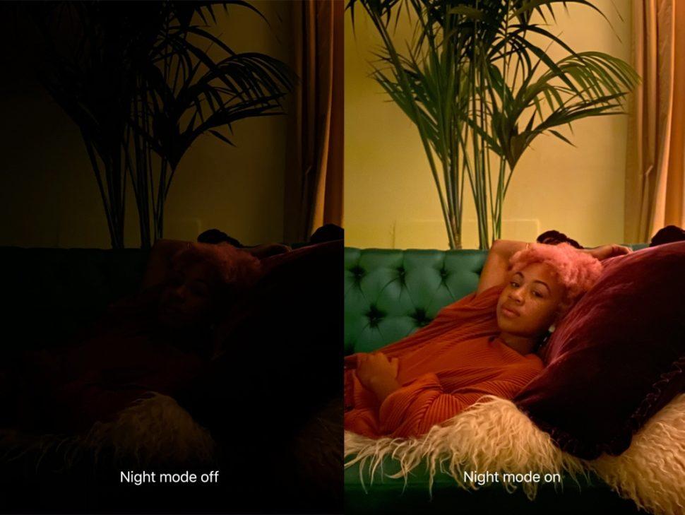 Exemplo de foto tirada no modo noturno com o iPhone 11
