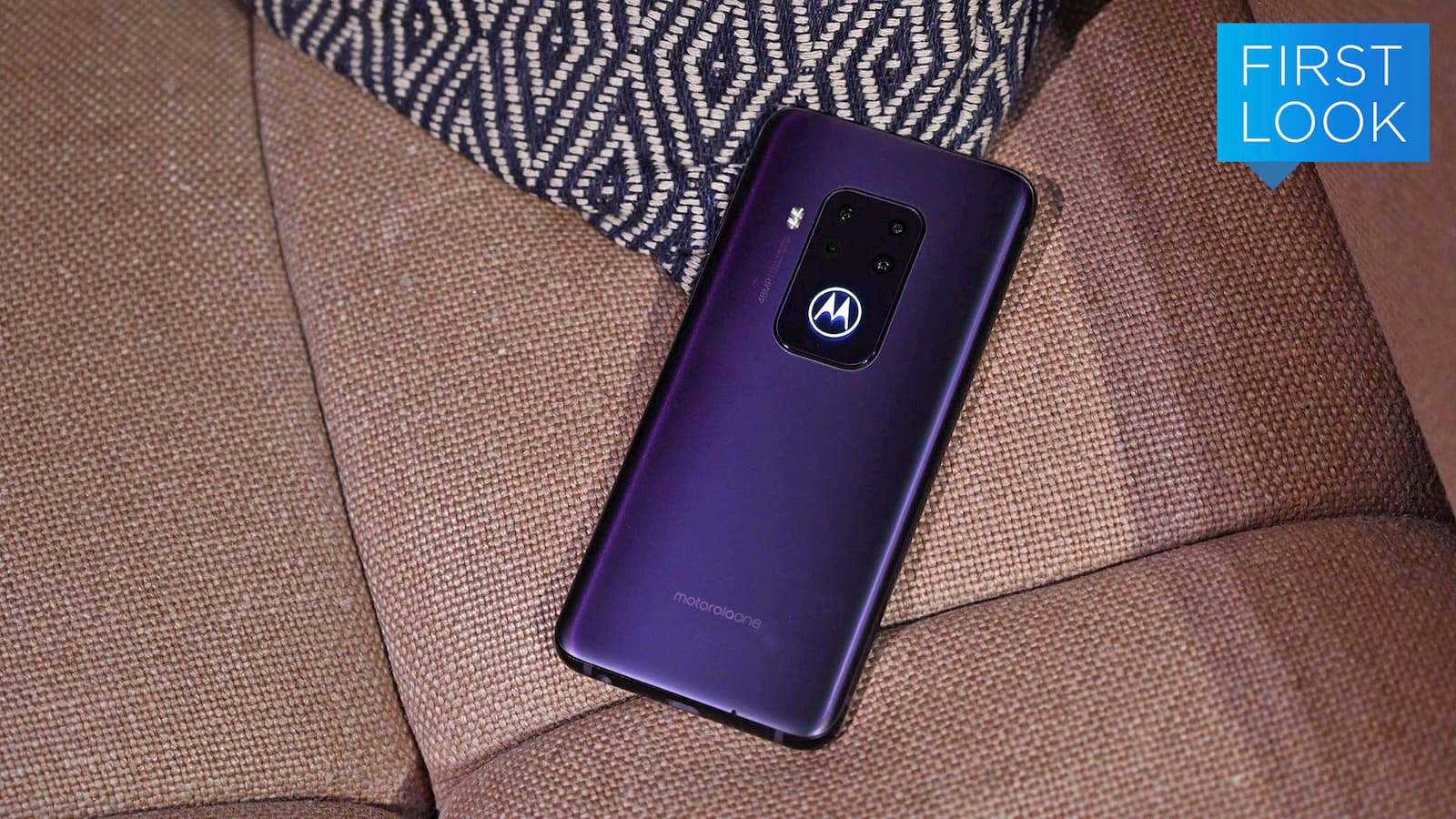 Traseira do Motorola One Zoom
