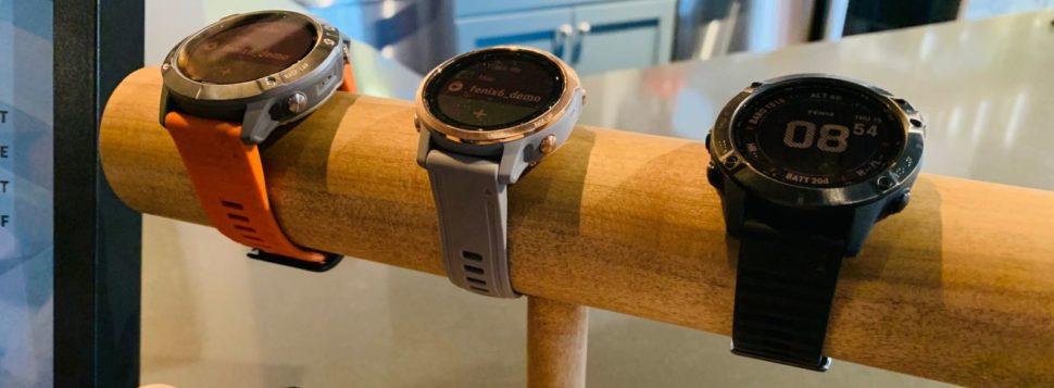 Relógios Smartwatch, da Garmin