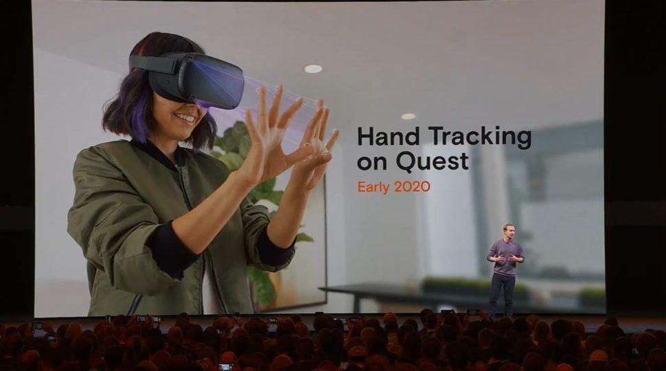 vr hand tracking 970x541 - Headset autônomo da Oculus poderá controlará realidade virtual apenas com as mãos