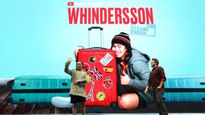 Whindersson Nunes durante a apresentação no YouTube Brandcast