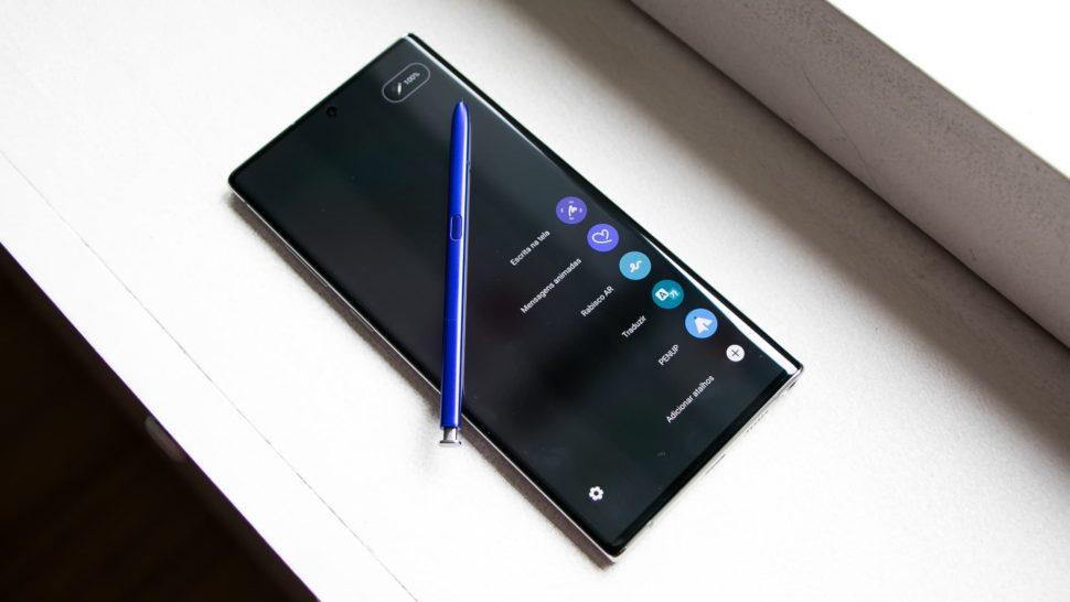 Caneta S Pen do Galaxy Note 10+