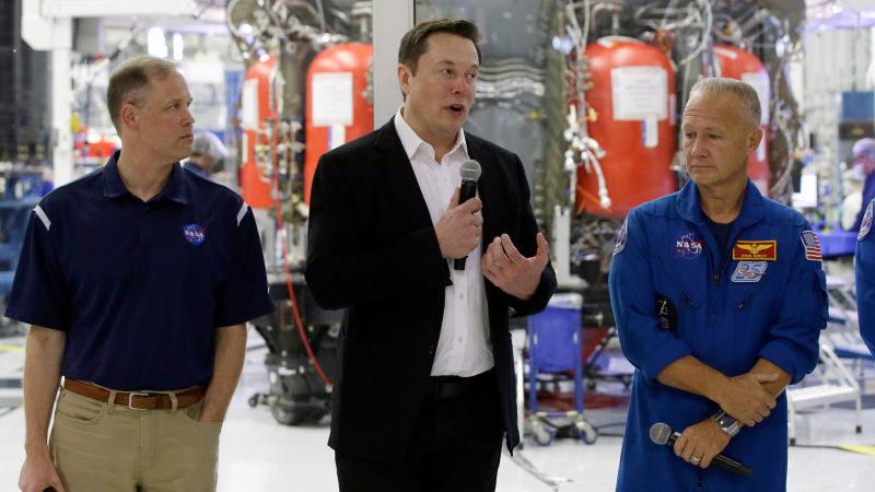 Elon Musk diz que a NASA pode compartilhar a propriedade intelectual da SpaceX com quem quiser gratuitamente