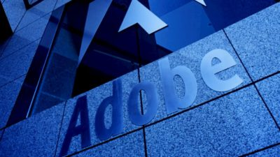 Fachada do prédio da Adobe