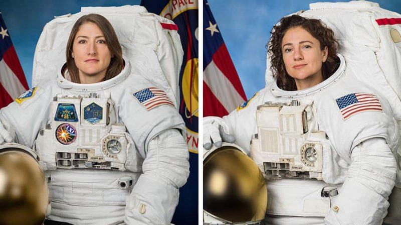 Primeira caminhada espacial totalmente feminina vai acontecer amanhã