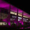Palácio do Planalto iluminado para a Campanha Outubro Rosa