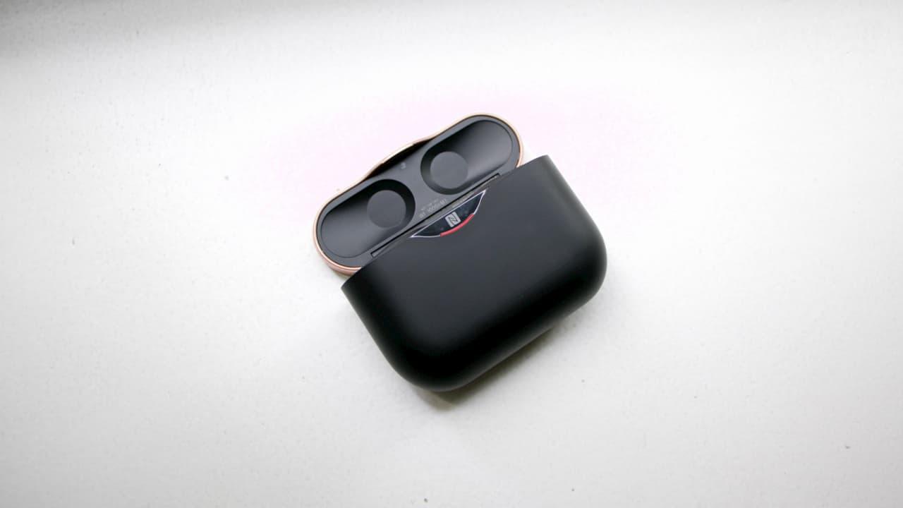 Caixinha dos fones de ouvido Sony WF-1000XM3