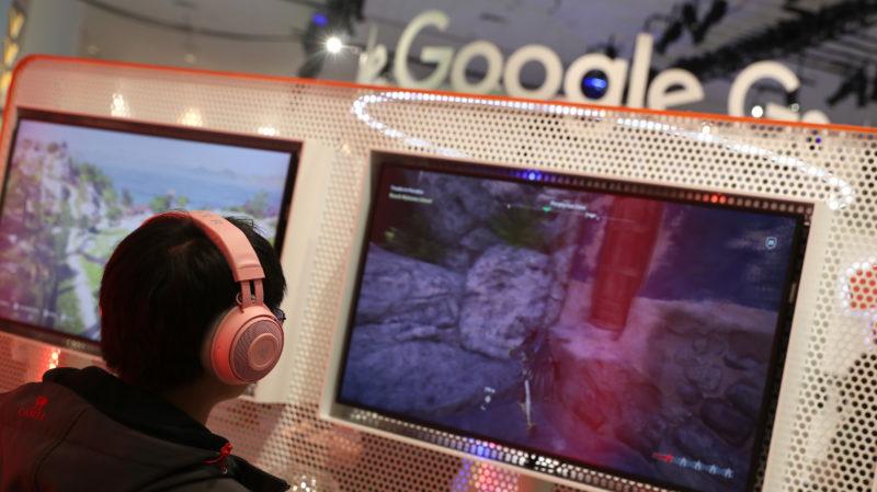 Demonstração do Google Stadia