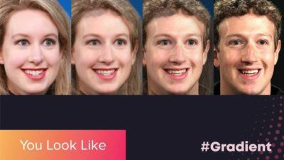 App Gradient mostra com qual celebridade você se parece