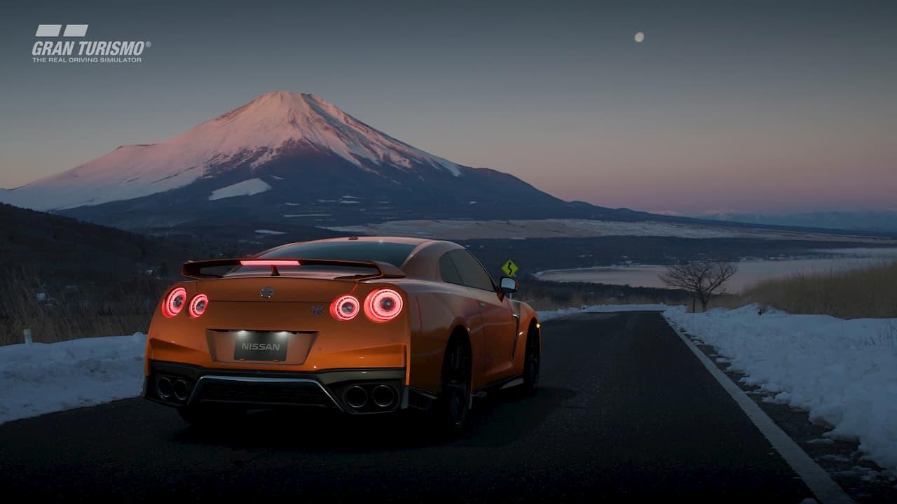 Captura de tela do jogo Gran Turismo Sport