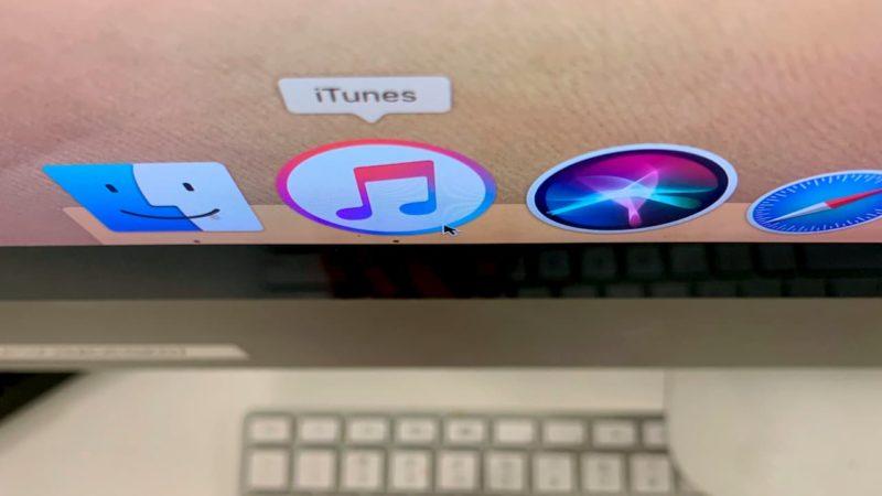 Ícone do iTunes em computador