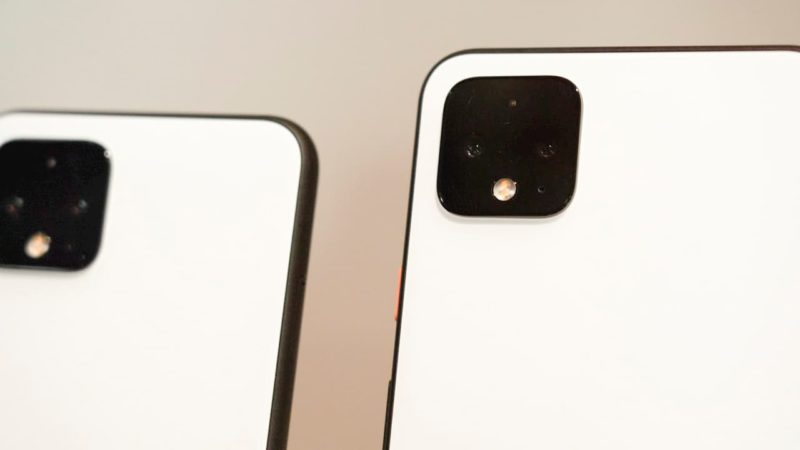 Câmeras dos novos Pixel 4
