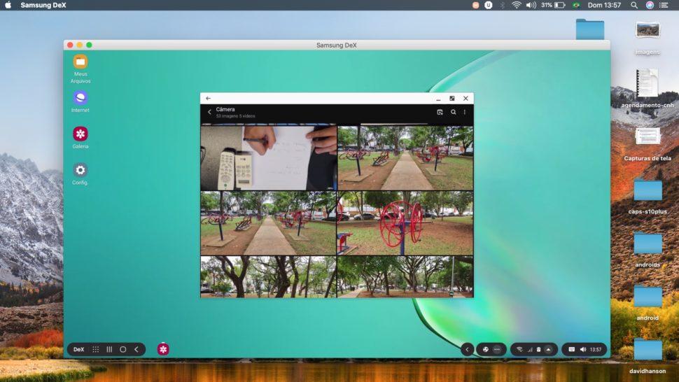 Samsung Dex no MacOS