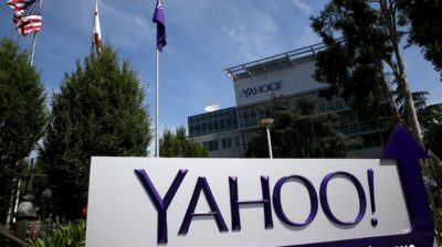 Fachada do Yahoo