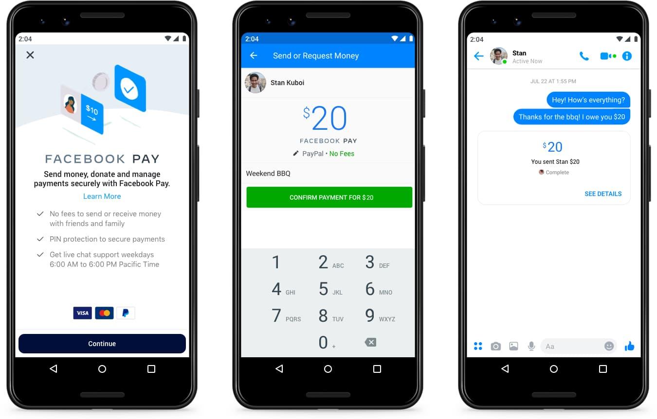 Facebook Pay é o sistema de pagamentos digitais da rede social nos EUA