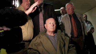 John Demjanjuk, acusado de ser um guarda do campo de concentração nazista