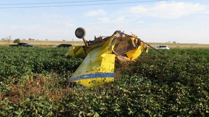 Avião que caiu após tentativa de chá revelação