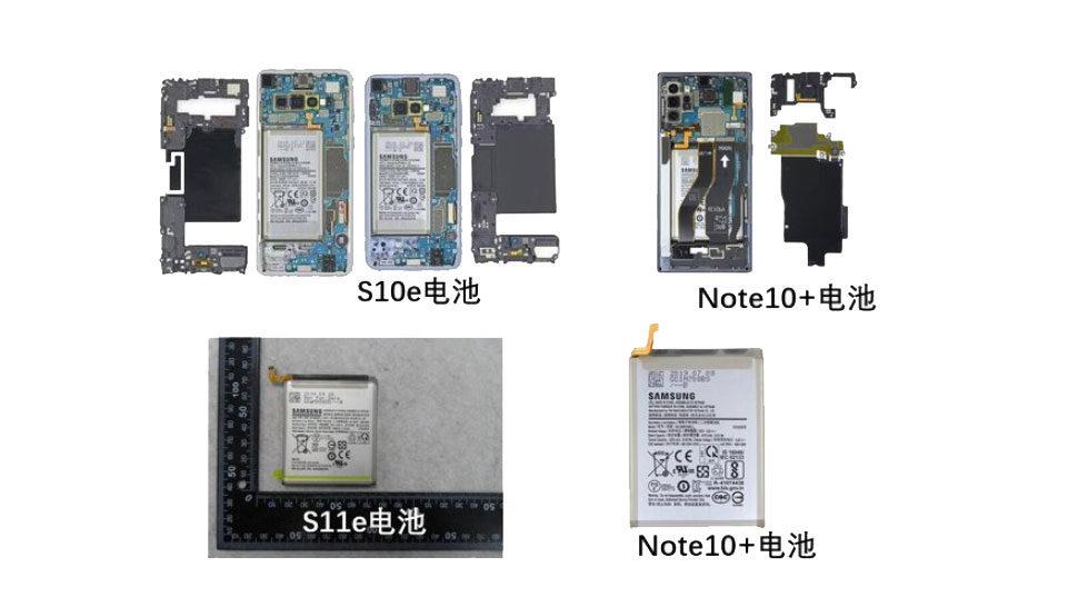 Vazamento mostra tamanho de bateria das diferentes versões do Galaxy S11