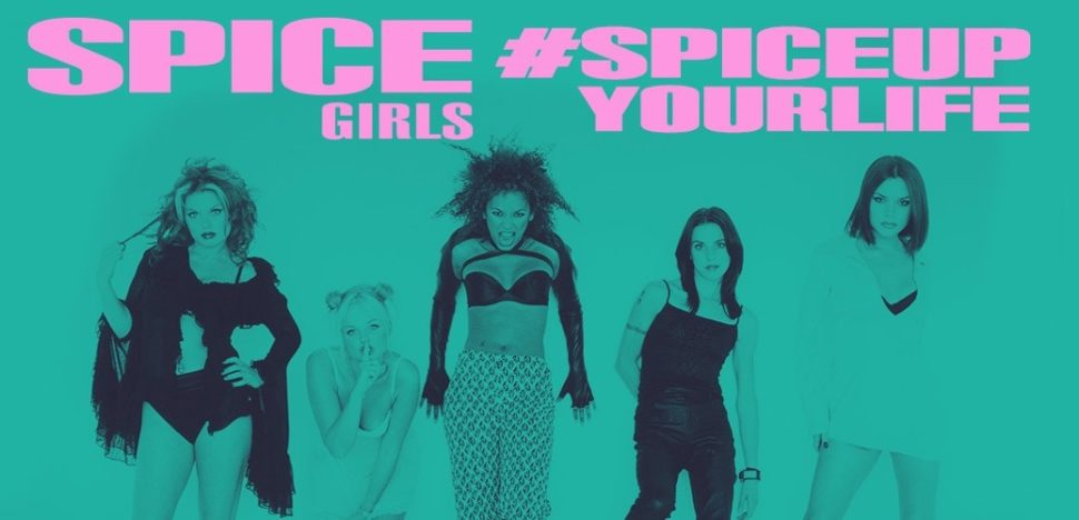 Desafio no TikTok com as cantoras britânicas do grupo Spice Girls