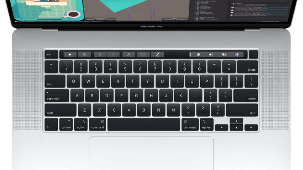 Teclado MacBook Pro de 16 polegadas