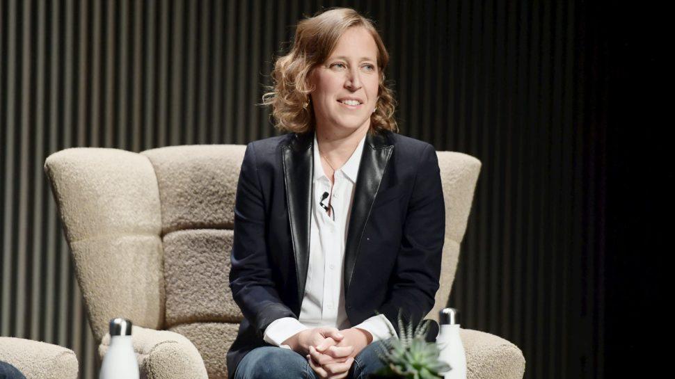 Susan Wojcicki, CEO do YouTube. Crédito: Getty