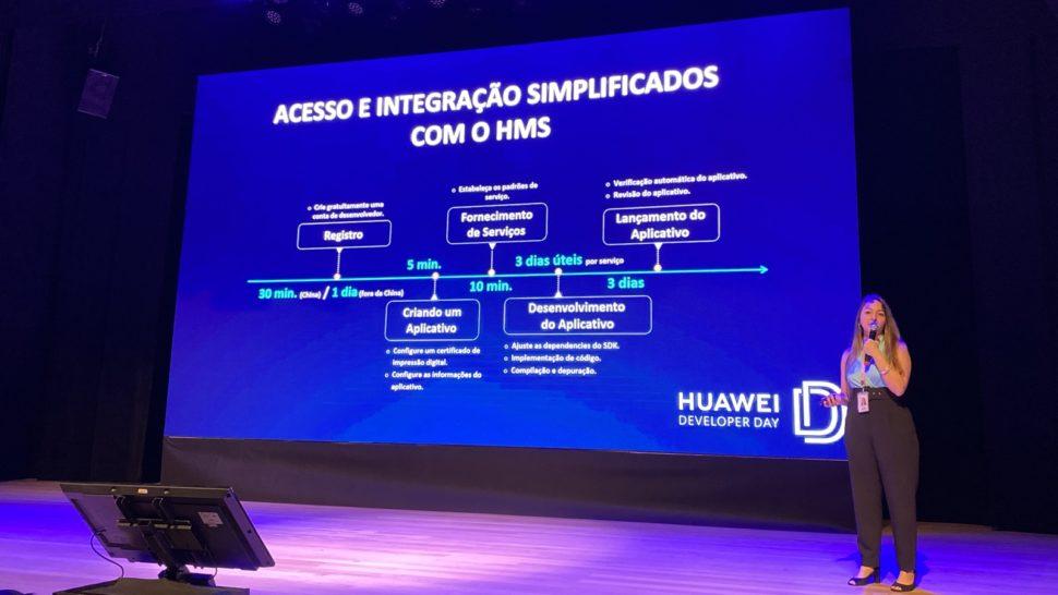 Cronograma do processo para submissão de app em loja da Huawei