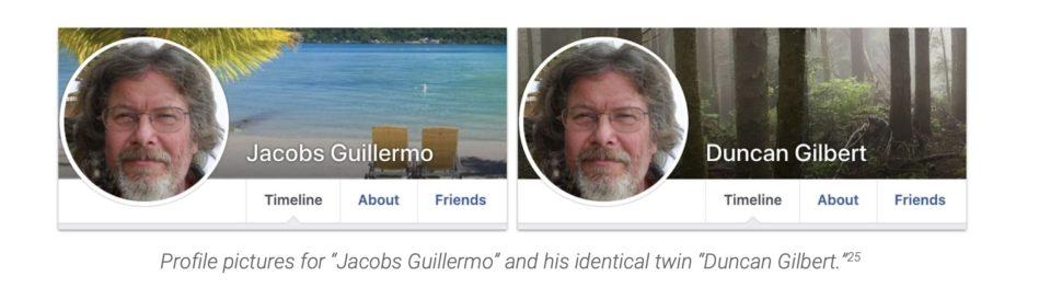 foto de perfil do facebook gerada por inteligência artificial