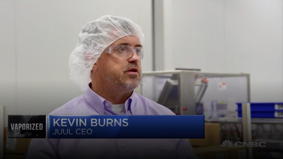 Ex-CEO da Jull, Kevin Burns.