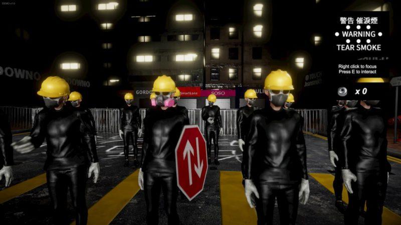 Captura de tela do jogo Liberate Hong Kong