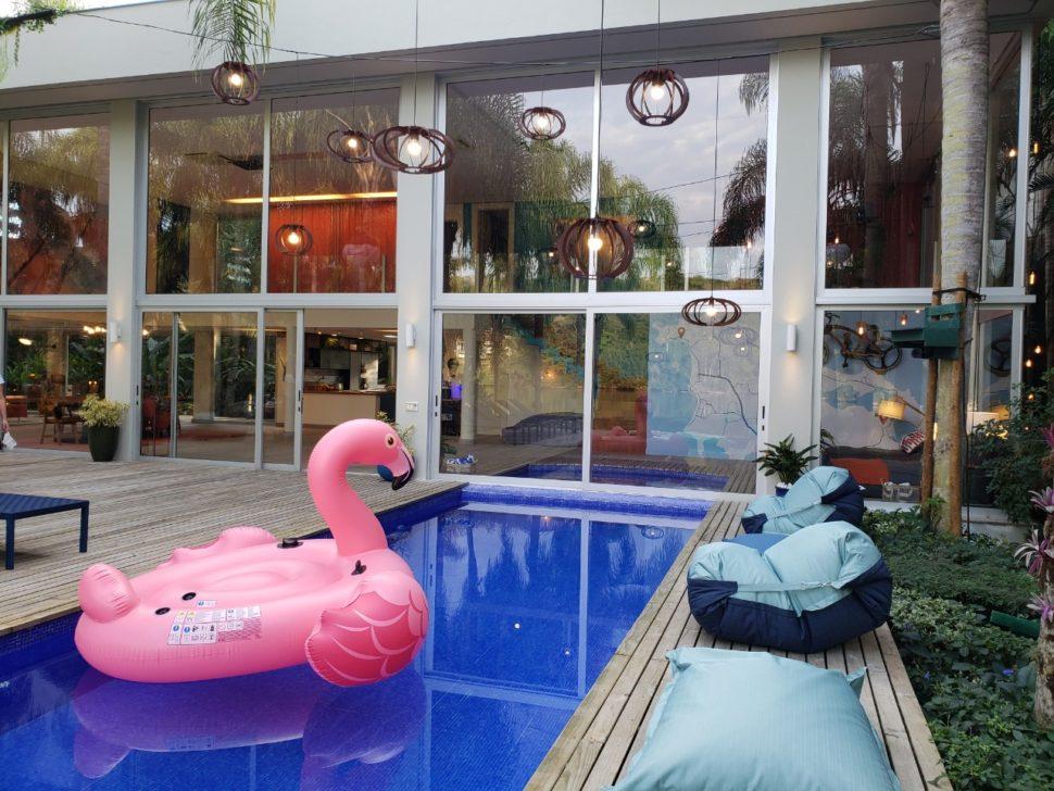 Casa do reality Soltos em Floripa