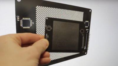 Sensor de câmera digital caseiro