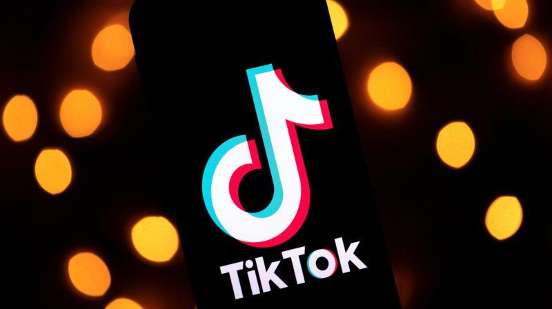 Logotipo da rede social TikTok