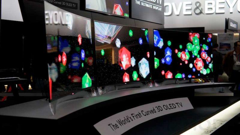 TVs de tela curva