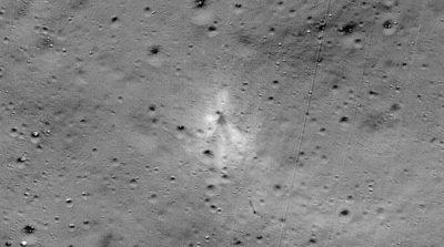 Local onde o módulo lunar Vikram colidiu na Lua