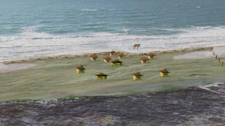 vilarejo neolitico muro mar israel 768x431 - Humanos pré-históricos construíram muro para se proteger do aumento do nível do mar, mas não deu certo