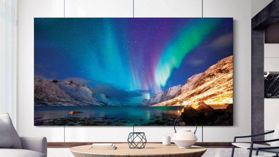 TV microLed da Samsung