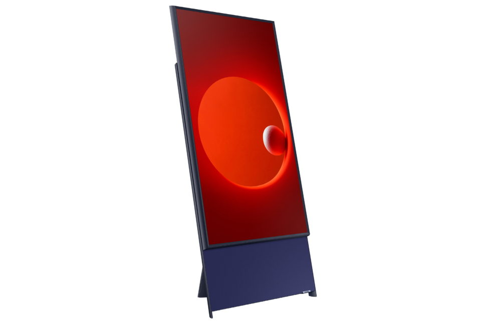 TV Samsung The Sero na vertical