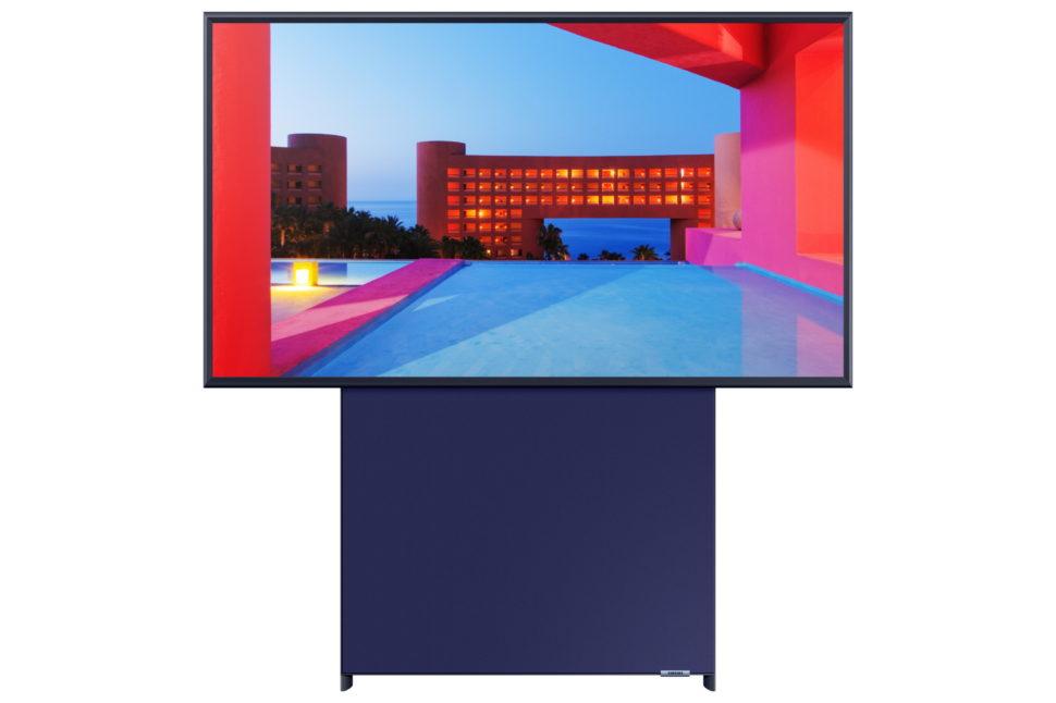 TV Samsung The Sero na horizontal