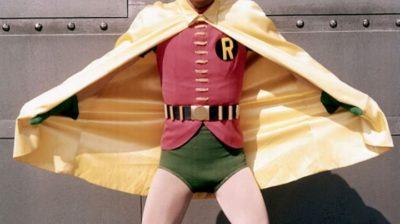 Burt Ward como Robin em série televisiva do Batman na década de 1960