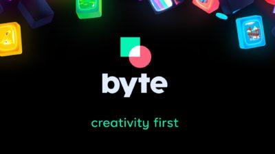 Imagem inicial do app Byte, que é um sucessor do Vine